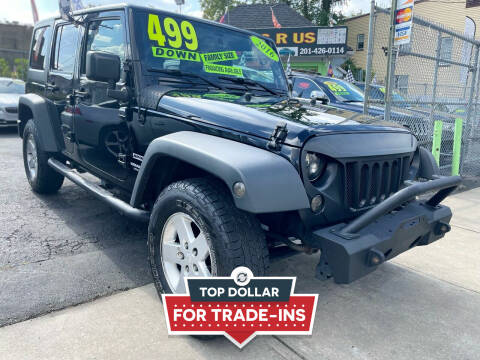 2016 Jeep Wrangler Unlimited for sale at Best Cars R Us LLC in Irvington NJ
