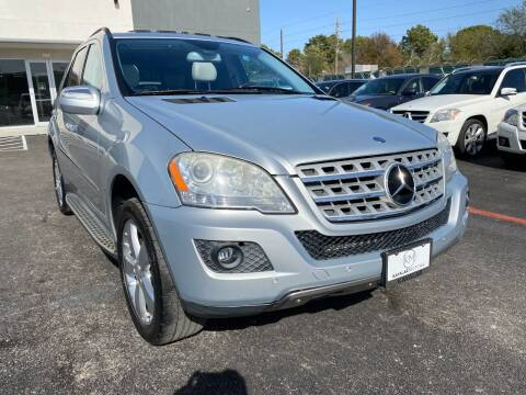 2010 Mercedes-Benz M-Class for sale at KAYALAR MOTORS in Houston TX