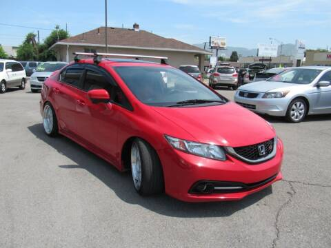 2014 Honda Civic for sale at Crown Auto in South Salt Lake UT