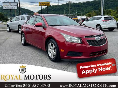 2012 Chevrolet Cruze for sale at ROYAL MOTORS LLC in Knoxville TN