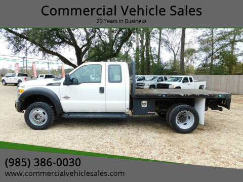 2012 Ford F-550 Super Duty for sale at Commercial Vehicle Sales in Ponchatoula LA