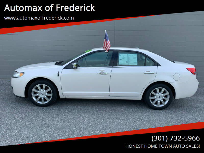 2012 Lincoln MKZ for sale at Automax of Frederick in Frederick MD