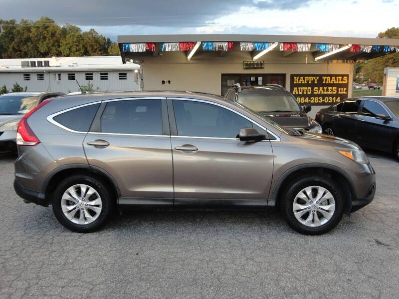 2013 Honda CR-V for sale at HAPPY TRAILS AUTO SALES LLC in Taylors SC