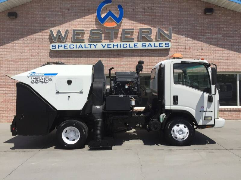 2009 GMC Street Sweeper for sale at Western Specialty Vehicle Sales in Braidwood IL