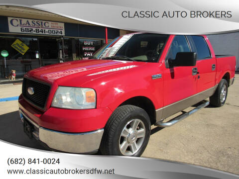 2006 Ford F-150 for sale at Classic Auto Brokers in Haltom City TX