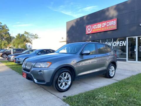 2014 BMW X3 for sale at HOUSE OF CARS CT in Meriden CT
