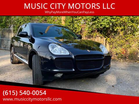 2006 Porsche Cayenne for sale at MUSIC CITY MOTORS LLC in Nashville TN