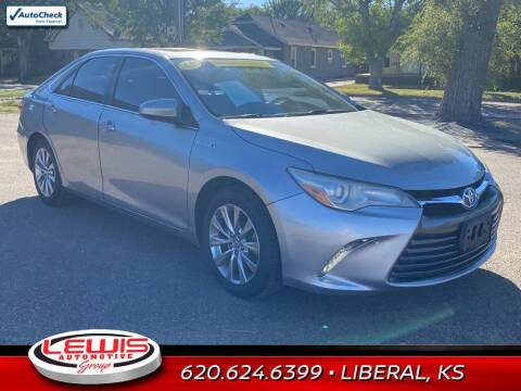2015 Toyota Camry Hybrid for sale at Lewis Chevrolet Buick of Liberal in Liberal KS