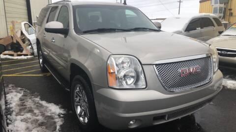 2008 GMC Yukon XL for sale at BELOW BOOK AUTO SALES in Idaho Falls ID