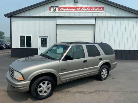 2001 Oldsmobile Bravada for sale at Highway 9 Auto Sales - Visit us at usnine.com in Ponca NE
