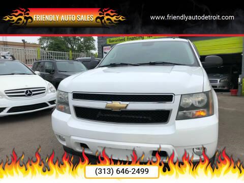 2007 Chevrolet Avalanche for sale at Friendly Auto Sales in Detroit MI
