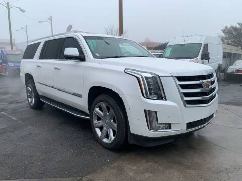 2017 Cadillac Escalade ESV for sale at Best Buy Quality Cars in Bellflower CA