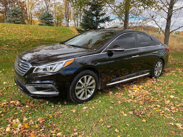 2017 Hyundai Sonata for sale at Dave's Auto & Truck in Campbellsport WI