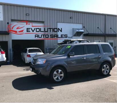 2014 Honda Pilot for sale at Evolution Auto Sales LLC in Springville UT