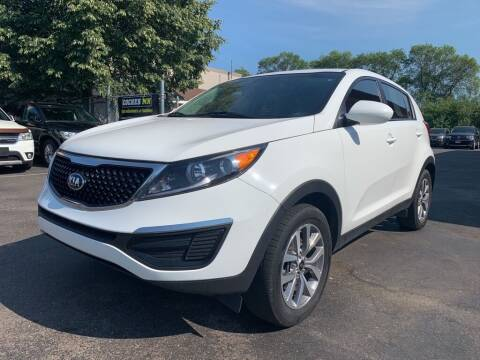2016 Kia Sportage for sale at MIDWEST CAR SEARCH in Fridley MN