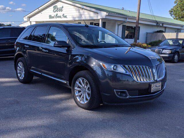2013 Lincoln MKX for sale at Best Used Cars Inc in Mount Olive NC