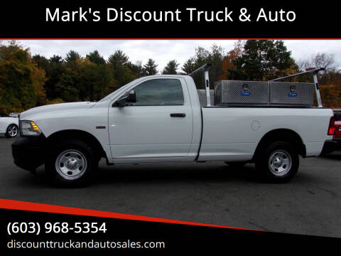 2013 RAM Ram Pickup 1500 for sale at Mark's Discount Truck & Auto in Londonderry NH