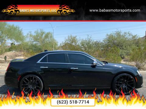 2015 Chrysler 300 for sale at Baba's Motorsports, LLC in Phoenix AZ