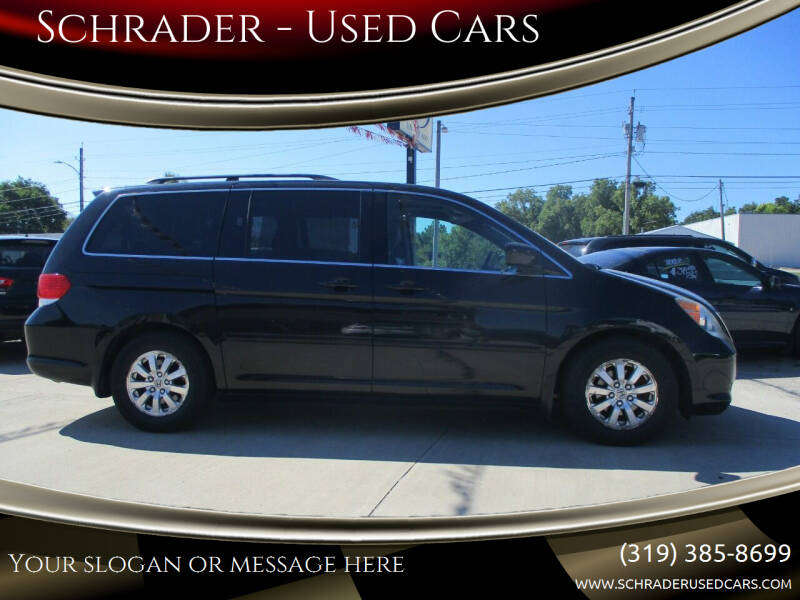 2010 Honda Odyssey for sale at Schrader - Used Cars in Mt Pleasant IA