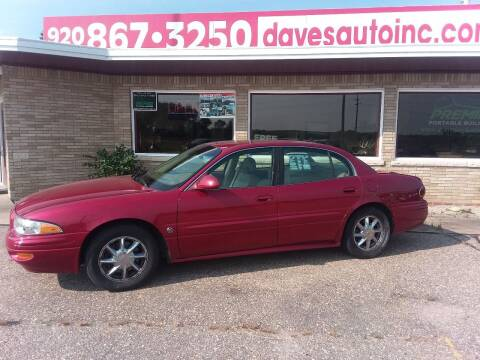 2005 Buick LeSabre for sale at Dave's Auto Sales & Service in Weyauwega WI