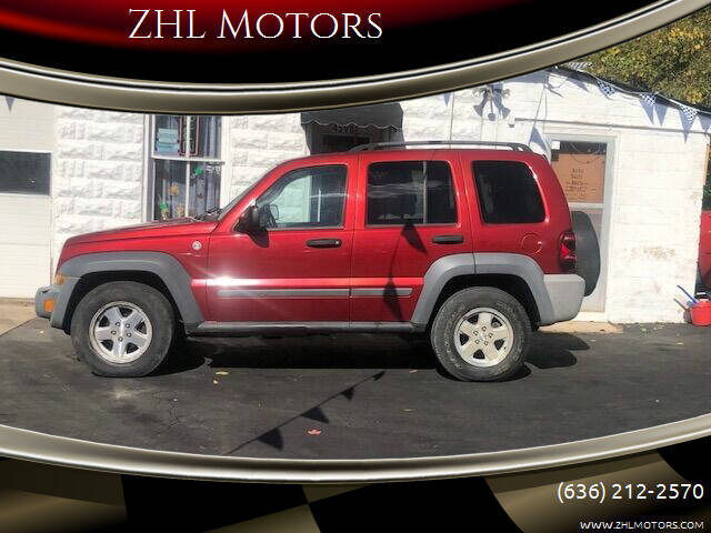 2006 Jeep Liberty for sale at ZHL Motors in House Springs MO