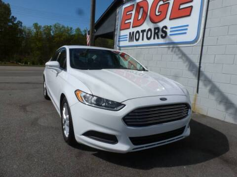 2016 Ford Fusion for sale at Edge Motors in Mooresville NC