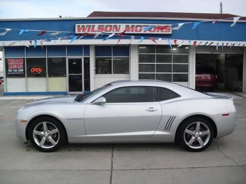 2012 Chevrolet Camaro for sale at Wilson Motors in Junction City KS