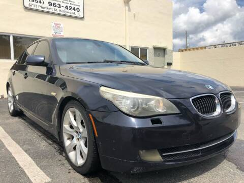2009 BMW 5 Series for sale at Eden Cars Inc in Hollywood FL
