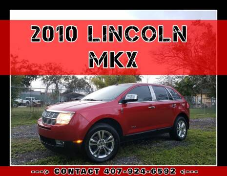 2010 Lincoln MKX for sale at AFFORDABLE ONE LLC in Orlando FL