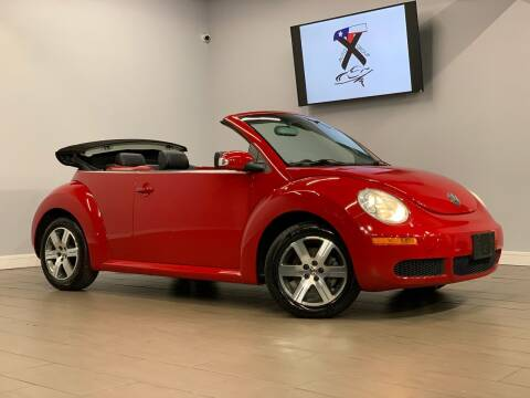 2006 Volkswagen New Beetle Convertible for sale at TX Auto Group in Houston TX