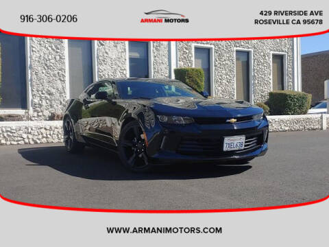2017 Chevrolet Camaro for sale at Armani Motors in Roseville CA