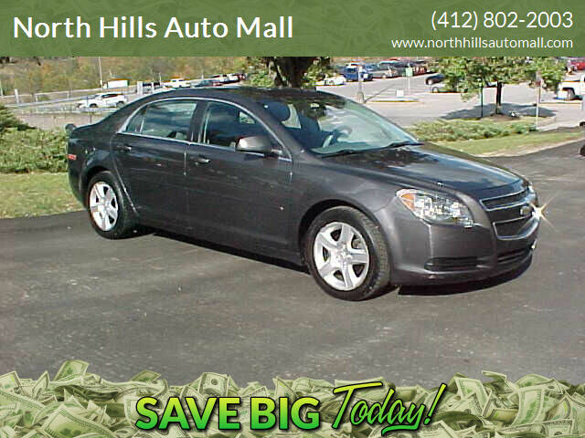 2011 Chevrolet Malibu for sale at North Hills Auto Mall in Pittsburgh PA