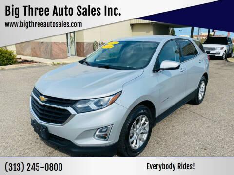 2018 Chevrolet Equinox for sale at Big Three Auto Sales Inc. in Detroit MI