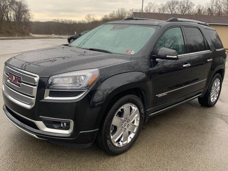 2015 GMC Acadia for sale at Elite Motors in Uniontown PA