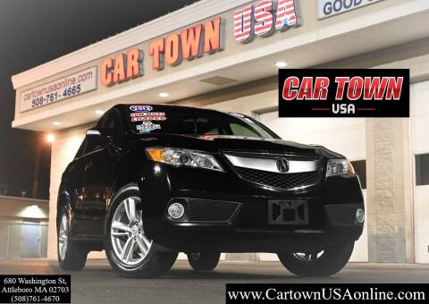 2013 Acura RDX for sale at Car Town USA in Attleboro MA