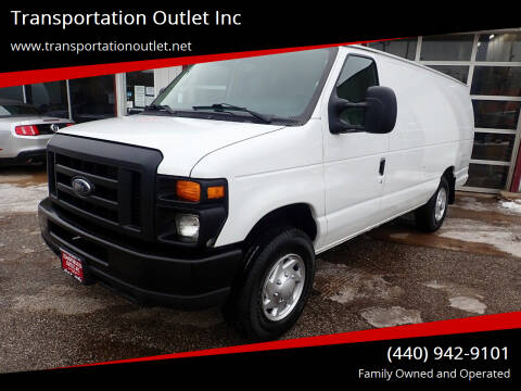 2013 Ford E-Series Cargo for sale at Transportation Outlet Inc in Eastlake OH