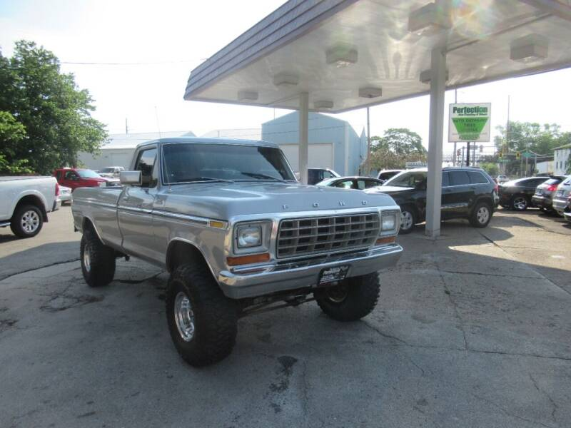 1978 Ford F-150 for sale at Perfection Auto Detailing & Wheels in Bloomington IL