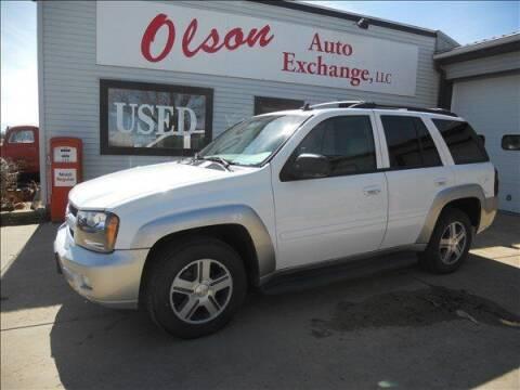 2006 Chevrolet TrailBlazer for sale at OLSON AUTO EXCHANGE LLC in Stoughton WI