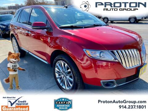2012 Lincoln MKX for sale at Proton Auto Group in Yonkers NY