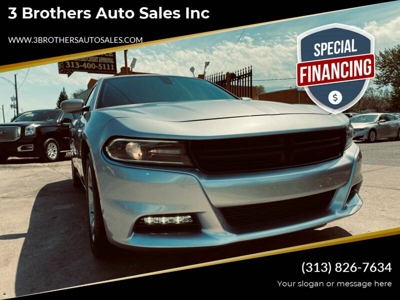 2015 Dodge Charger for sale at 3 Brothers Auto Sales Inc in Detroit MI