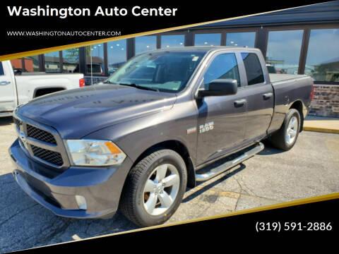 2015 RAM Ram Pickup 1500 for sale at Washington Auto Center in Washington IA