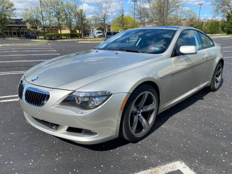 2008 BMW 6 Series for sale at Professionals Auto Sales in Philadelphia PA