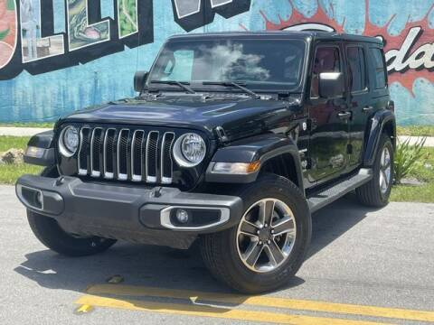 2020 Jeep Wrangler Unlimited for sale at Palermo Motors in Hollywood FL