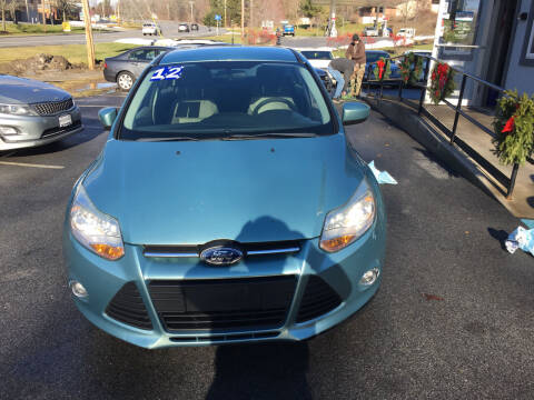 2012 Ford Focus for sale at Mikes Auto Center INC. in Poughkeepsie NY