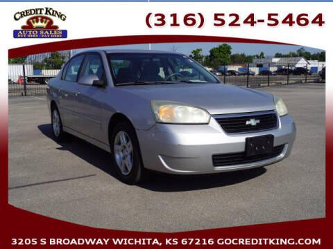 2006 Chevrolet Malibu for sale at Credit King Auto Sales in Wichita KS