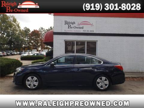 2018 Subaru Legacy for sale at Raleigh Pre-Owned in Raleigh NC