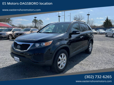 2013 Kia Sorento for sale at ES Motors-DAGSBORO location in Dagsboro DE