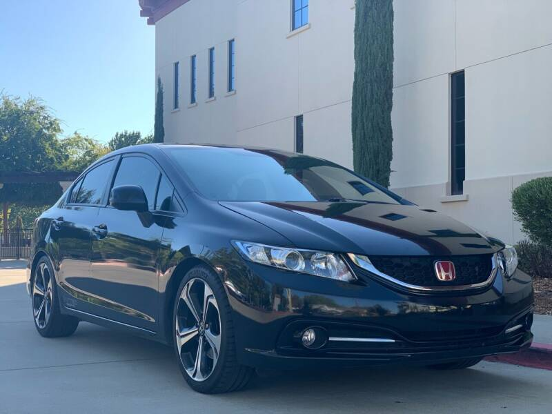 2013 Honda Civic for sale at Auto King in Roseville CA