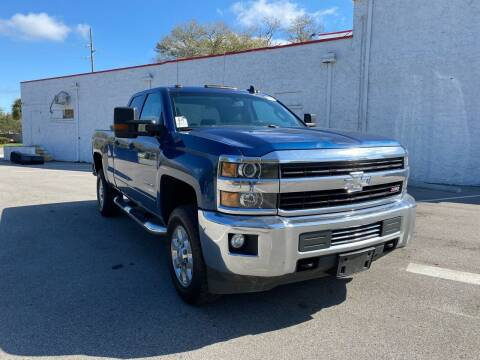 2016 Chevrolet Silverado 2500HD for sale at LUXURY AUTO MALL in Tampa FL