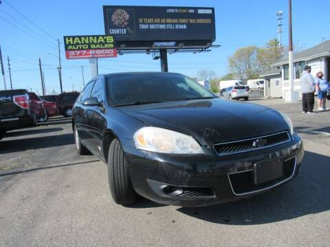 2009 Chevrolet Impala for sale at Hanna's Auto Sales in Indianapolis IN